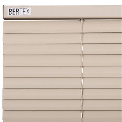 Mini persiana 25 mm beige 120x230 cm