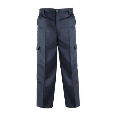 Pantalón Cargo Gabardina talla 56 Azul