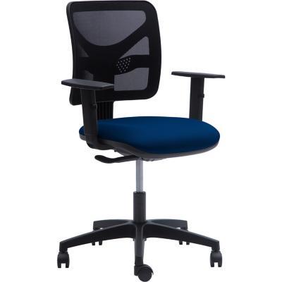 Silla PC media 59,5x97,5x50,5 cm azul