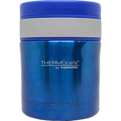Termo de comida acero inoxidable azul 350 ml