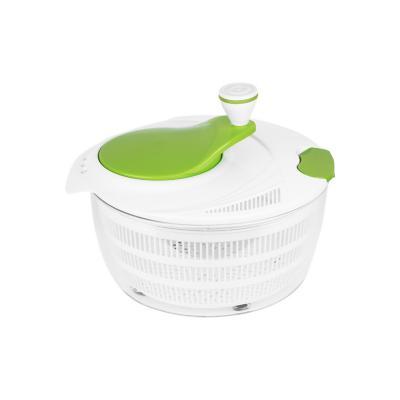 Centrifuga para verduras manual plástico verde