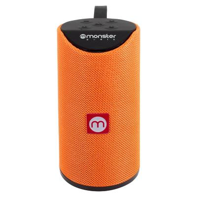 Parlante bluetooth monster audio naranjo