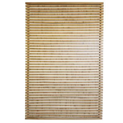 Enrejado de madera con marco 180x120x4 cm