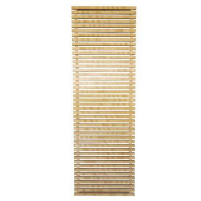 Enrejado de madera con marco 60x183x4 cm