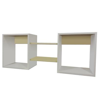Repisa cubo Crema 40x120x25 cm