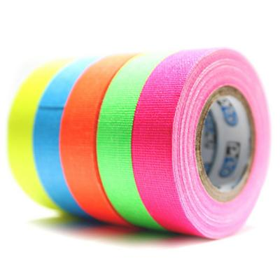 Pack de bolsillo Cinta Gaffer tela 5 colores flúor