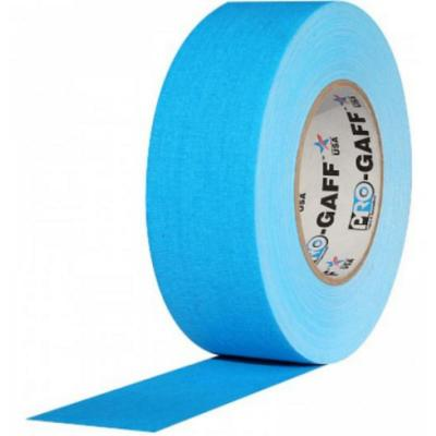 Cinta Gaffer de tela PRO GAFF Azul flúor