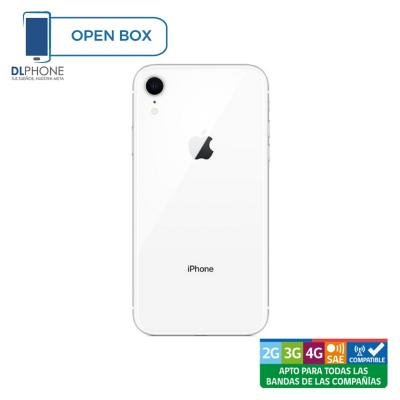 Celular iPhone XR 64GB Open Box Plata