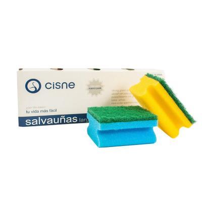 Set 4 esponjas colores limpieza