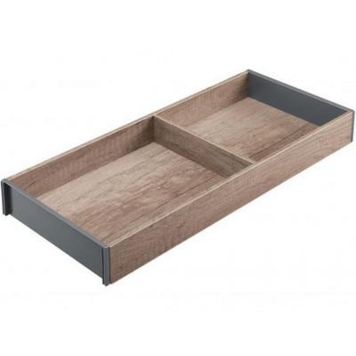 Subdividor repisa madera roble 24x5,4x51 cm café