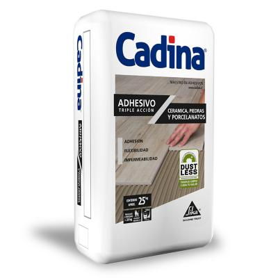 Adhesivo cerámico polvo TA sin polución 25 kg