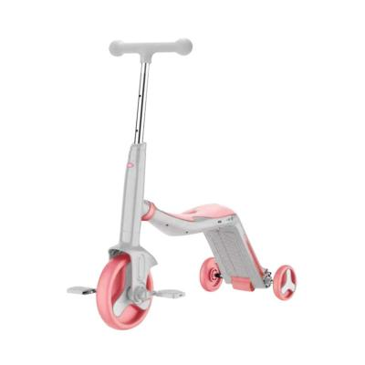 Triciclo Infantil 3-en-1 75,5x29x72 cm Rosa