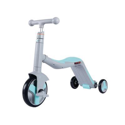 Triciclo Infantil 3-en-1 75,5x29x72 cm Celeste
