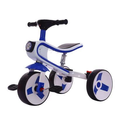 Triciclo Infantil 3-en-1 75,5x27x73 cm Azul