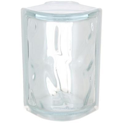 Bloque vidrio esquinero 13x19x8cm