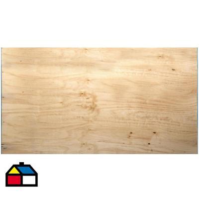 Terciado Estructural pino 9 mm 122 x 244 cm