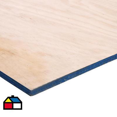 Terciado Estructural pino 12 mm 122 x 244 cm