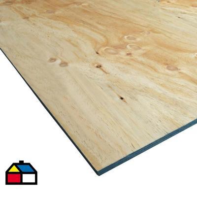 Terciado Estructural pino 18 mm 122 x 244 cm