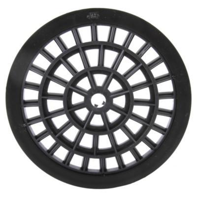 Rejilla Pileta PVC Redonda 15cm Negro 1u