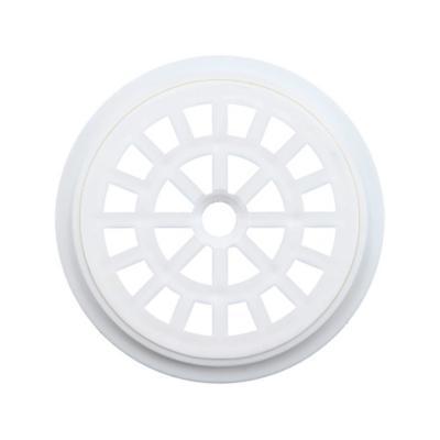Rejilla Pileta PVC Redonda 10cm Blanco 1u