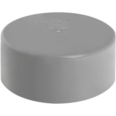 Tapa PVC-S Cementar 40mm Gris 1u