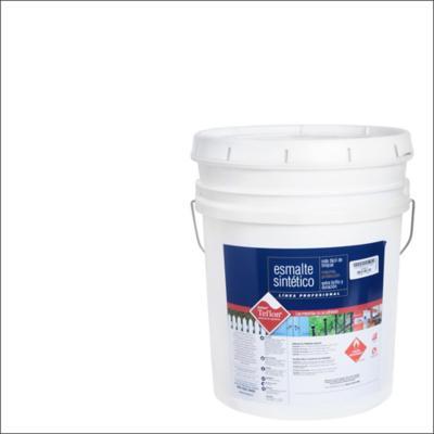 Esmalte sintético brillante 5 gl blanco