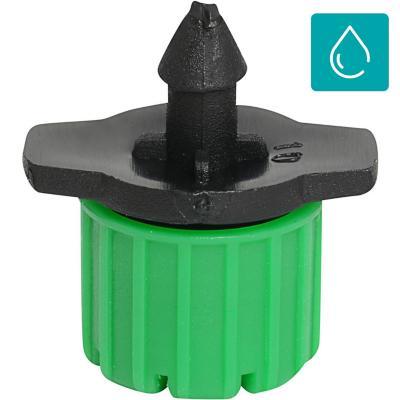 Set de goteros botón regulables plástico 5 unidades