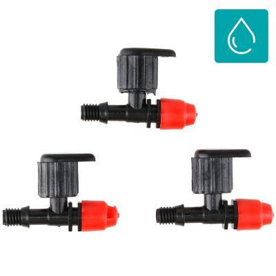 Set de microaspersores regulables plástico 3 unidades
