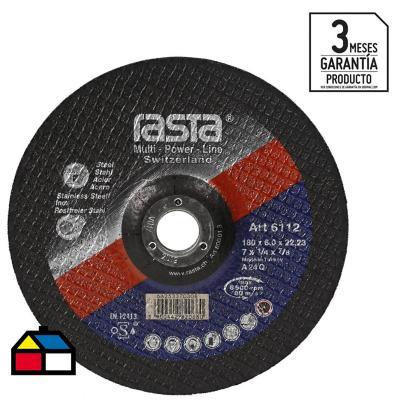 """Disco de desbaste 7"""" óxido de aluminio"""
