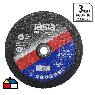 """Disco de corte metal 9"""" óxido de aluminio"""