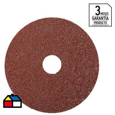 """Disco lija 4 1/2"""" óxido de aluminio"""