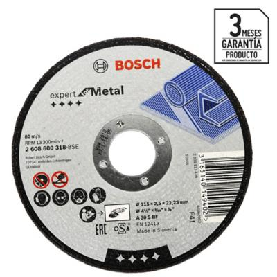 "Disco de corte metal 4,5"""