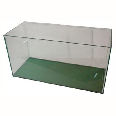 Acuario con tapa 60x30x25 cm de vidrio