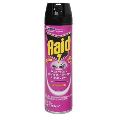 Insecticida multipropósito 360 ml aerosol