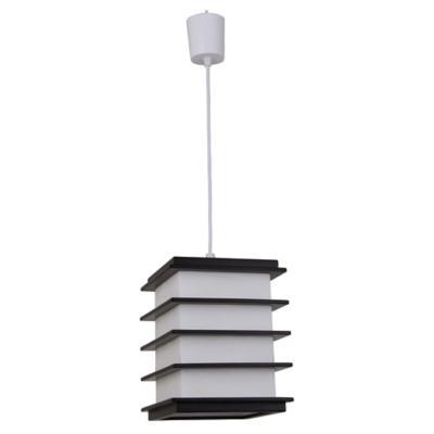 Lámpara de colgar Madera Akida Amarillo