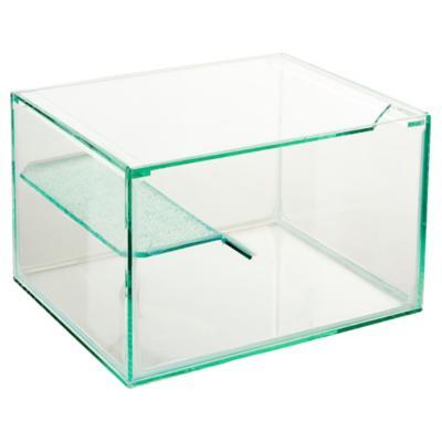 Acuario con marco 60x30x25 cm de vidrio