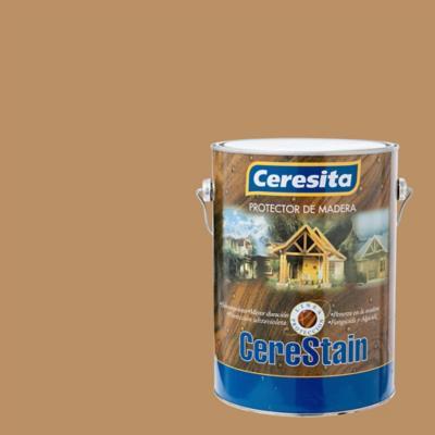 Preservante de madera satinado 1 gl castaño