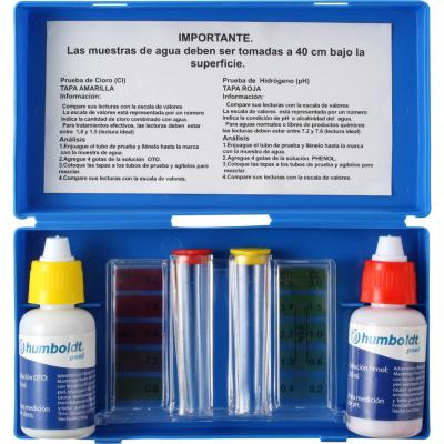 Set analizador de cloro y PH para piscina
