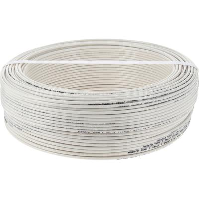 Cable eléctrico (Thhn) 14 Awg 100 m Blanco