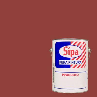 Pintura para pisos satinado 1 gl rojo óxido