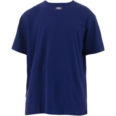 Polera manga corta azul talla L