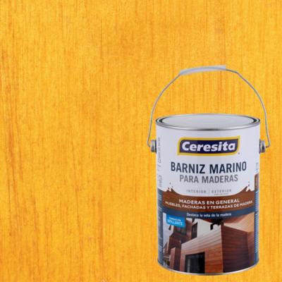 Barniz marino brillante 1 gl maple