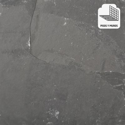 Piedra pizarra 40x40 cm 0,96 m2 gris