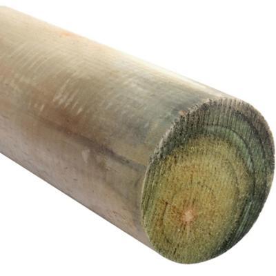 Polin impregnado 3 a 4 - 75 a 100 mm x 2,44 m