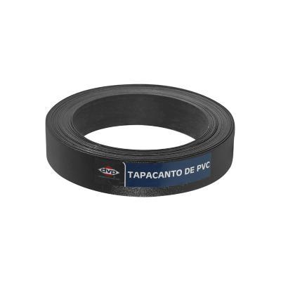 Tapacanto PVC Negro 21x0,45 mm 10m