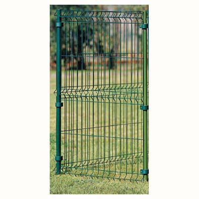 Panel cerco metal 125x75 cm verde