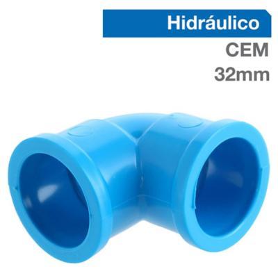 Set codos PVC para cementar 32x32 mm 10 unidades