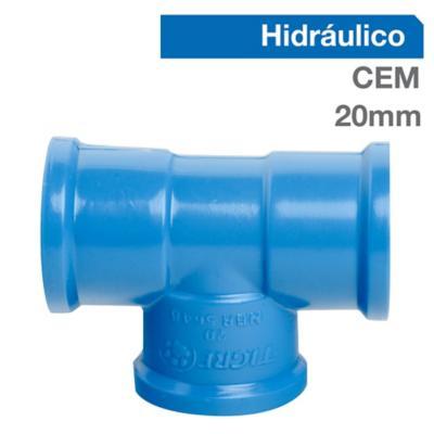 Pack Tee PVC-P Cementar 20mm  10u