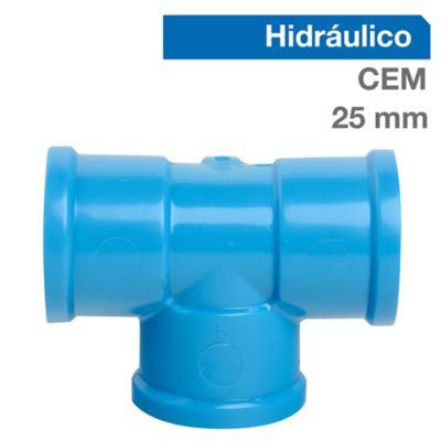 Pack Tee PVC-P Cementar 25mm  10u