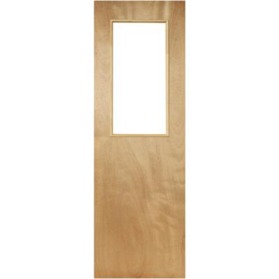 Puerta Terciado 1/2 cuerpo 80 x 200cm sin vidrio